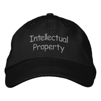 Intellectual Property Embroidered Baseball Hat