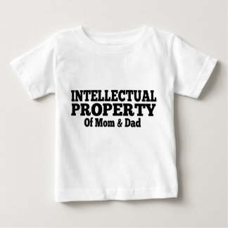 Intellectual Property Of Mom & Dad Baby T-Shirt