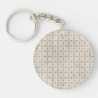 Intellectual Restored Tidy Rational Double-Sided Round Acrylic Keychain