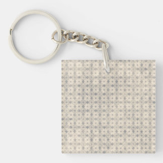 Intellectual Restored Tidy Rational Single-Sided Square Acrylic Keychain