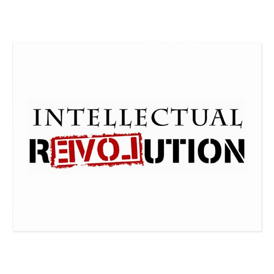 Intellectual rEVOLution Postcard