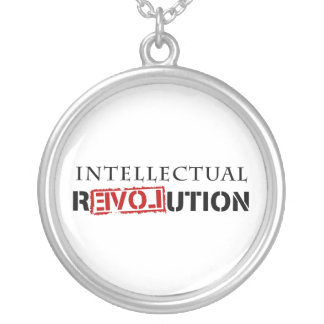 Intellectual rEVOLution Silver Plated Necklace