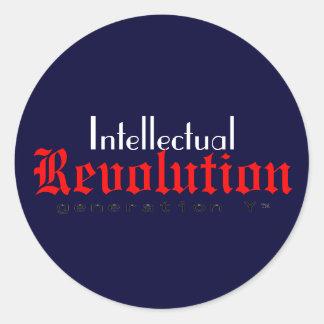 Intellectual Revolution Sticker