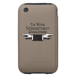 Intellectually Challenged iPhone 3 Tough Case