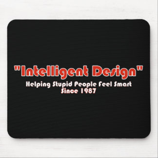 """Intellegent Design"" Mouse Pad"