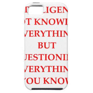INTELLIGENCE iPhone SE/5/5s CASE