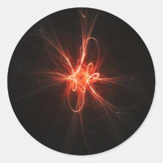 intelligence light core sticker