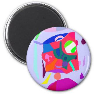 Intelligence Music Sound Tone Primitive 2 Inch Round Magnet