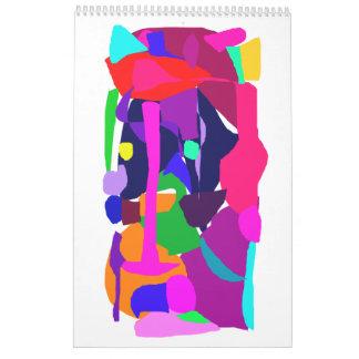 Intelligence Music Sound Tone Primitive Wall Calendars