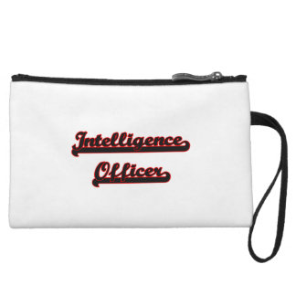 Intelligence Officer Classic Job Design Wristlet Clutches