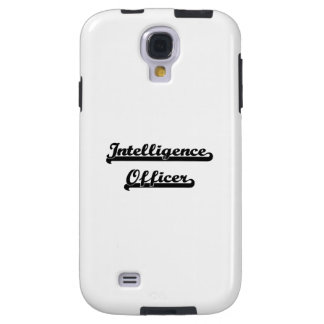 Intelligence Officer Classic Job Design Galaxy S4 Case