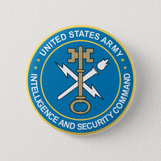 Intelligence & Security Command Pinback Button