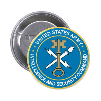 Intelligence & Security Command Pinback Buttons