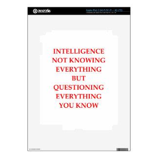 INTELLIGENCE SKINS FOR iPad 3