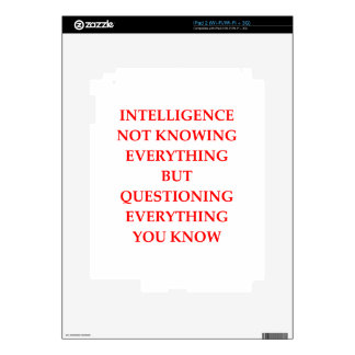 INTELLIGENCE SKINS FOR THE iPad 2