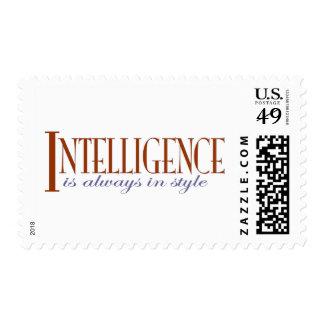 Intelligence Stamp