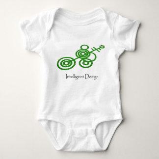 Intelligent design baby bodysuit
