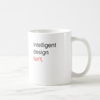 intelligent design coffee mug