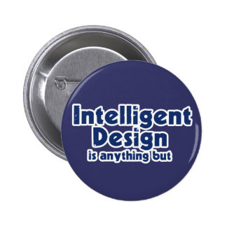 Intelligent Design Pinback Button
