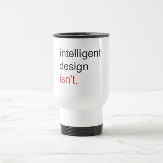intelligent design travel mug