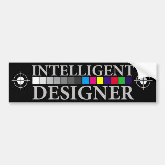 Intelligent Designer Bumper Sticker