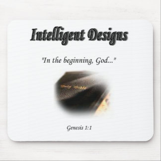 Intelligent Designs Logo Mouse Pad