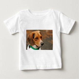 Intelligent Focussed Beagle Hunting Dog Baby T-Shirt