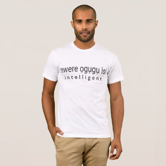 INTELLIGENT - Igbo T-Shirt