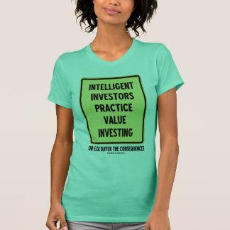 Intelligent Investors Practice Value Investing T-Shirt