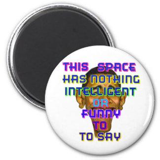 intelligent Obama Magnet