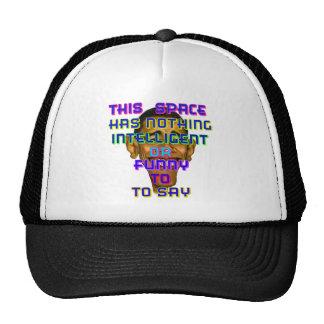 intelligent Obama Trucker Hat