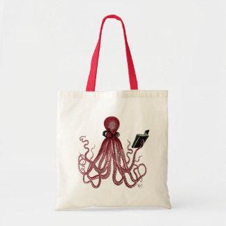 Intelligent Octopus Tote Bag