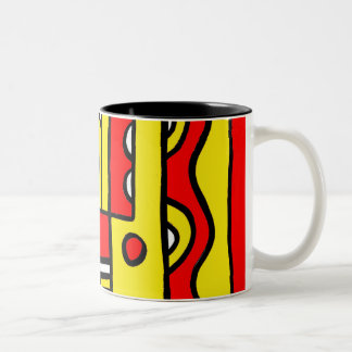 Intelligent Reserved Superb Familiar Two-Tone Coffee Mug