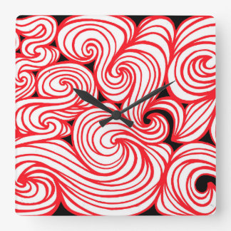 Intelligent Transformative Proud Bright Square Wall Clock