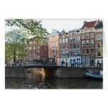 Intemporal - puente en Amsterdam Tarjeta Pequeña