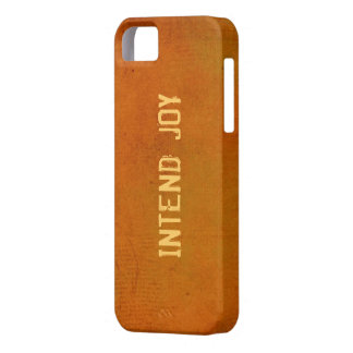 Intend Joy Affirmation iPhone 5 Case