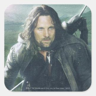 Intense Aragorn Square Sticker