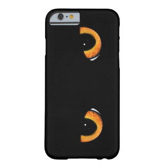 Intense Black Cat Eyes Barely There iPhone 6 Case