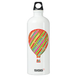 Intense Color ARTISTIC Stripes Balloons Water Bottle