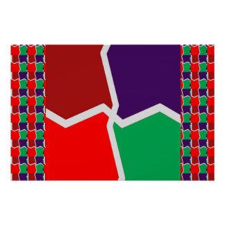 Intense COLOR GRAPHIC for BUSINESS BOUTIQUE Gifts Poster