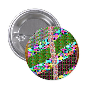 INTENSE Color Patterns Sparkles Giveaway GIFTS luv 1 Inch Round Button