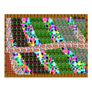 INTENSE Color Patterns Sparkles Giveaway GIFTS luv Postcard