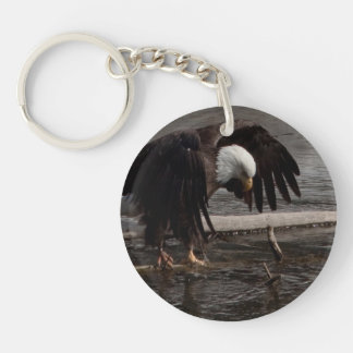 Intense Concentration Keychain