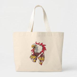 Intense Eagle Jumbo Tote Bag