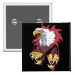 Intense Eagle Pin