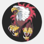 Intense Eagle Stickers