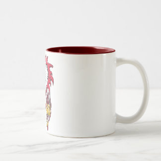 Intense Eagle Two-Tone Coffee Mug