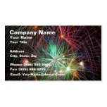 Intense Fireworks Double-Sided Standard Business Cards (Pack Of 100)