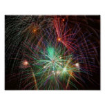 Intense Fireworks Posters