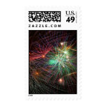 Intense Fireworks Stamps